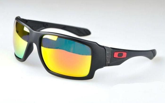 456c2708127 Cheap Oakley Big Taco Sunglasses Matte Black Frame Fire Iridium Sale