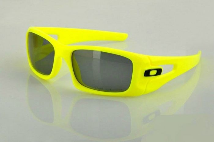 a362dba8835 Cheap Oakley Crankcase Sunglasses Green Yellow Frame Grey Lens Sale