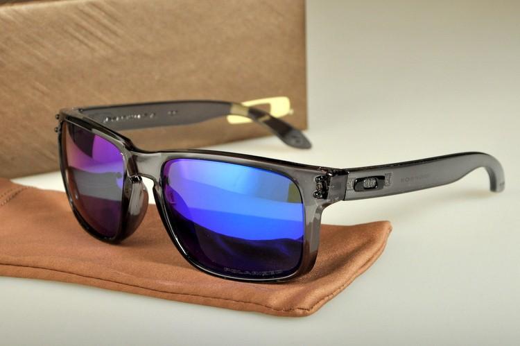 9b67c9a362 Cheap Oakley Holbrook Sunglasses Crystal Black Frame Violet Lens Sale