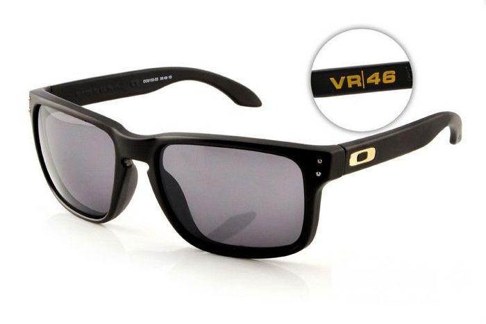 20690b2ce05 Cheap Oakley Holbrook Sunglasses Matte Black Frame Grey Lens Sale