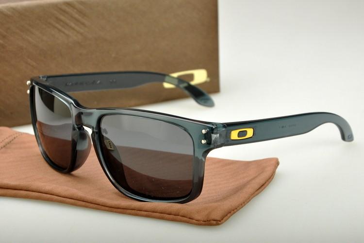 83d9a9de7b5 Cheap Oakley Holbrook Sunglasses OO Yellow Grey Green Frame Grey Lens