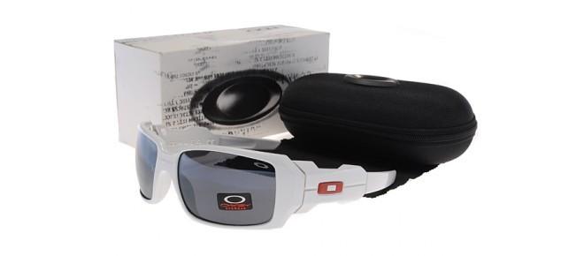 c38dfb7607 Cheap Oakley OIL RIG Sunglasses White black Frame multi-colored lens ...