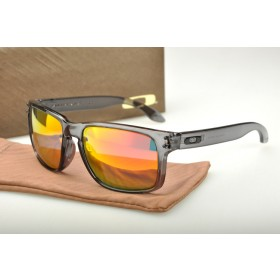 187d68e7539 Cheap Oakley Holbrook Sunglasses OO Yellow Grey Green Frame Grey ...